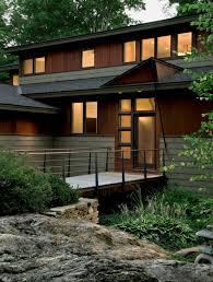 modern exterior modern ranch home u2014 smith u0026 vansant architects
