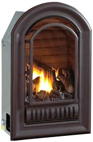 free standing ventless propane fireplace freestanding direct vent