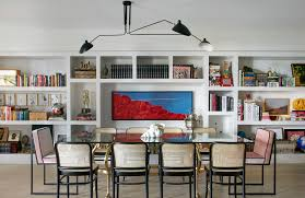 Chic Dining Room 16 Chic Dining Rooms With Libraries Inspiration Dering