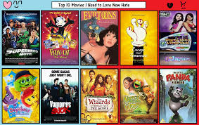 top 10 movies i used to like but now by toongirl18 on deviantart