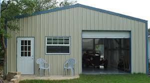 steel frame garage kit 7334