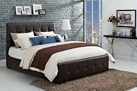 headboards live edge american black walnut bed frame with