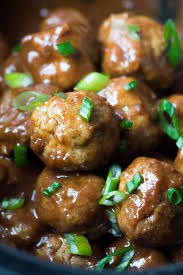honey chipotle slow cooker meatballs with salt and wit