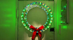 How To Make Christmas Light by How To Make A Wreath Out Of Old Cds Howcast The Best How To