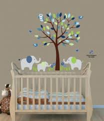 Wall Decals For Nursery Use Elephant Wall Decals And Elephant Stickers To Create An