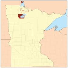 Map Of Lake Superior Red Lake Indian Reservation Wikipedia