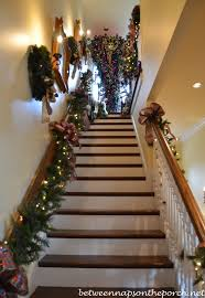 Handrail Christmas Decorations Tour A Victorian Home Decorated For Christmas