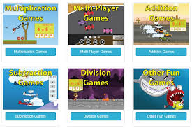 free multiplication addition subtraction division games