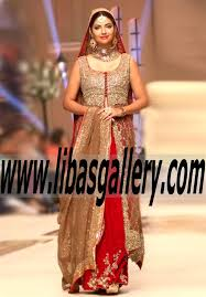 aisha s bridal wedding dresses in telenor bridal couture week 2014 aisha imran