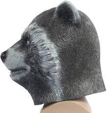 spirit halloween gas mask raccoon cosplay guardians of the galaxy rocket mask cosplay the