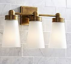 bathroom wall lighting pottery barn
