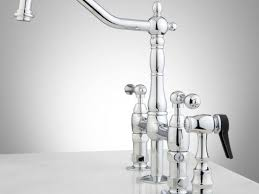 modern kitchen faucets stainless steel contemporary bridge kitchen faucet outstanding style faucets for