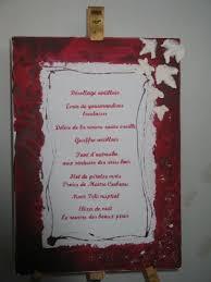 prã sentation menu mariage idée de présentation pour le menu du mariage rêves d