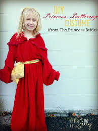 hi it u0027s jilly diy princess buttercup costume from the princess