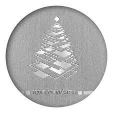 designer weihnachtskarte designer weihnachtskarte nr 84 für firmen in grau mit