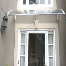 Outdoor Window Awnings And Canopies Transparent Plastic Front Door Canopy Window Awnings