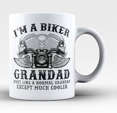 Cool Coffee Mug by I U0027m A Cool Biker Grandad Coffee Mug Tea Cup