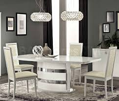 Extending Dining Table And 6 Chairs 3781 00 Roma Dining Set White Table And 6 Chairs Dining