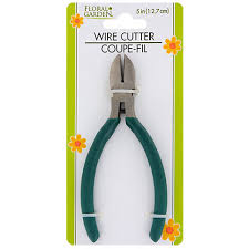 floral wire bulk floral garden wire cutters 5 in at dollartree