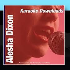 karaoke ameritz karaoke downloads alesha dixon