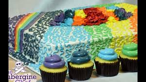 How to Decorate a Cake Decorated Cakes Decorating cakes