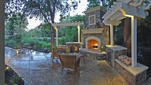 Designers Patio San Francisco Sided Fireplace Patio Traditional With