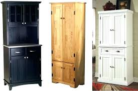 Wood Kitchen Storage Cabinets Black Wood Storage Cabinet Black Kitchen Storage Cabinet Black