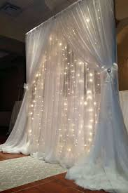 wedding backdrop curtains 600 sequential white led lights big wedding party photography