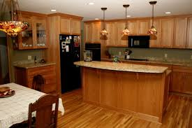 Oak Kitchen Designs Honey Oak Kitchen Cabinets With Granite Countertops Kutskokitchen