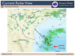 Current Us Weather Map Nws Corpus Christi Calhoun Goliad Victoria Counties 5 Pm