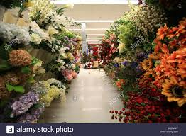flowers for sale silk flowers for sale at michael s store stock photo 33255515 alamy