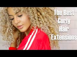 curly hair extensions the best curly hair extensions