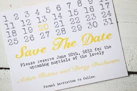 save the date calendar wedding save the dates calendar design invitations on etsy yellow gray