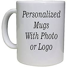 personalized coffee mug add pictures logo or text