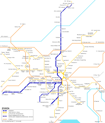 Map Of Metro by Essen Subway Map For Download Metro In Essen High Resolution