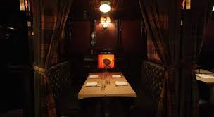 private dining room design of the breslin restaurant new york