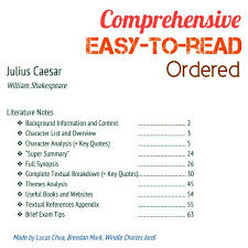 themes in julius caesar quotes raffles institution julius caesar notes books stationery