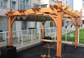 Pergola Canopy Ideas by Plain Ideas Pergola With Retractable Shade Diy Retractable Pergola