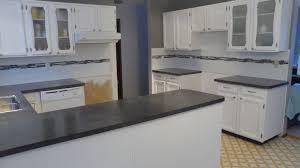 kitchen backsplash subway tile with accent glass subway tile