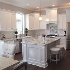 White Kitchen Cabinets And White Countertops Best 20 White Kitchen With Gray Countertops Ideas On Pinterest U2014no