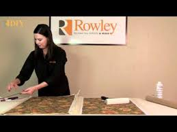 Make Your Own Roller Blinds How To Make A Laminated Roller Shade Youtube