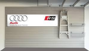 rs garage doors audi rs garage banner