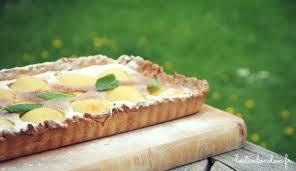 cuisine lorraine recette tarte aux poires et amandes et mascarpone au gingembre confit la
