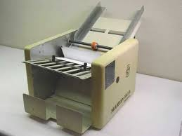 martin yale cv7 auto paper folder for parts value