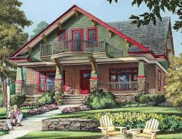 One Story Craftsman Home Plans Plan 32652wp Craftsman Cottage With Second Floor Balcony House