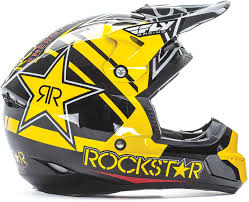 motocross bike helmets fly racing kinetic pro rockstar helmet 2017 mx atv motocross