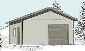 garage plans 1 car garage with shop plan 624 3 24 u0027 x 26 u0027 one