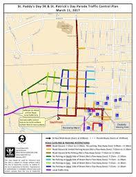 Naperville Il Map Parade Route West Suburban Irish
