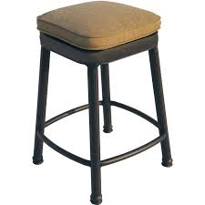 Leather Counter Stools Backless Furniture Leather Saddle Bar Stools Counter Height With Nailheads