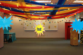 superhero training academy decorations cinjoella